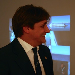 "Fabrizio Somma all'Inaugurazione di ""Coast to Coast"" Foto di A. Petelin"